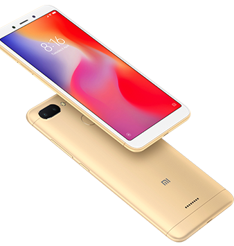 Xiaomi Redmi 6 AI powered dual camera