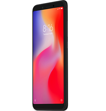 Xiaomi Redmi 6 A beautiful HD+ display