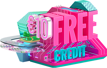 Get €10 free credit every month