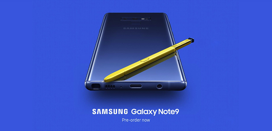 Save €150 on the Samsung Galaxy Note 9