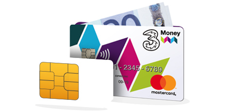 Bill Pay Sim with FREE 3Money card