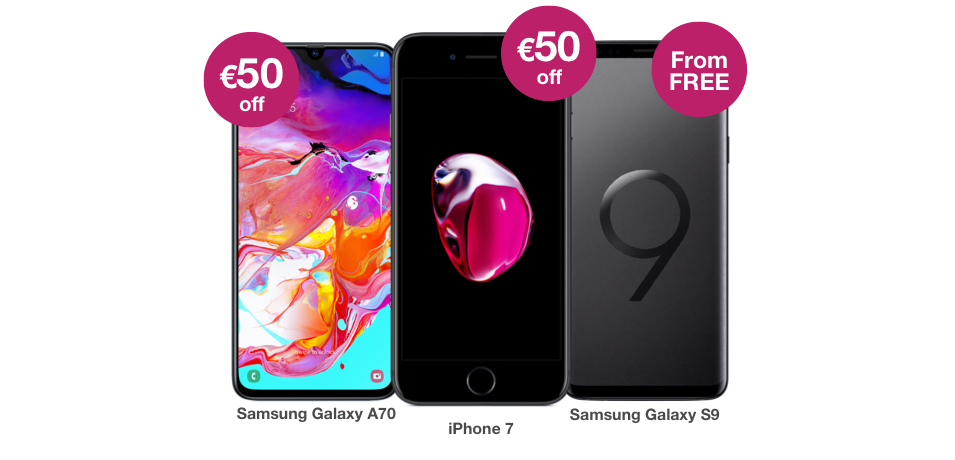 Great Phone Offers With All You Can Eat Data   Three ie