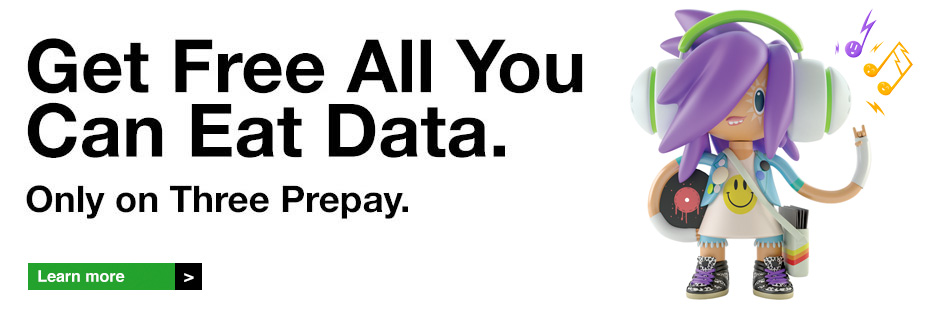 Prepay - All You Can Eat Data.