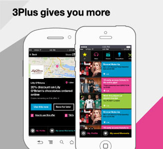 3 Plus Gives you more - three.ie