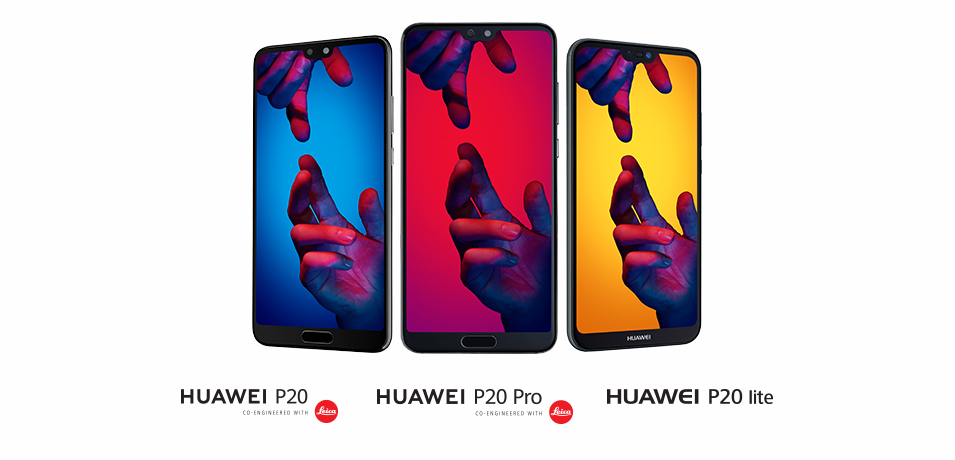 THE HUAWEI P20 SERIES IS HERE!