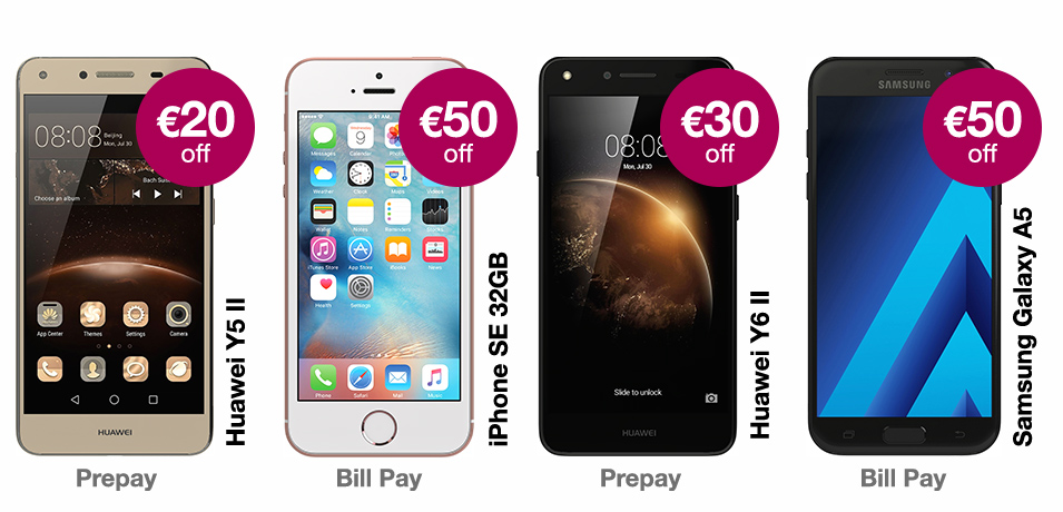 GET UP TO €30 OFF THE LATEST PHONES
