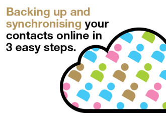 Backing up and Synchronising Your Contacts Online in 3 Easy Steps.