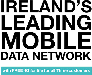 Free 4G for life, for all Three customers